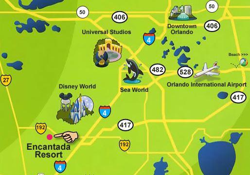 Encantada Resort - lige ved Disney World