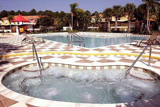 Feriehus i Orlando med stor pool